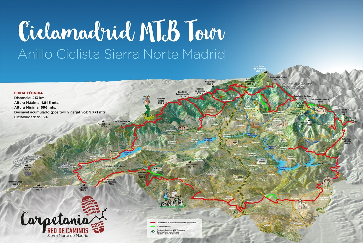 Sierra Norte Bike Challenge Carrera Mountain Bike Non Stop